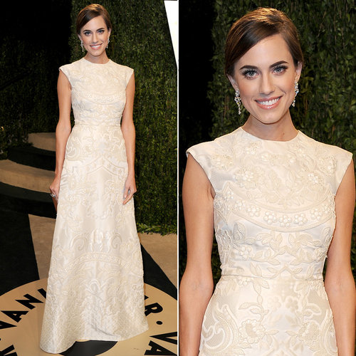 Allison Williams Oscar Party Dress 2013 | Pictures