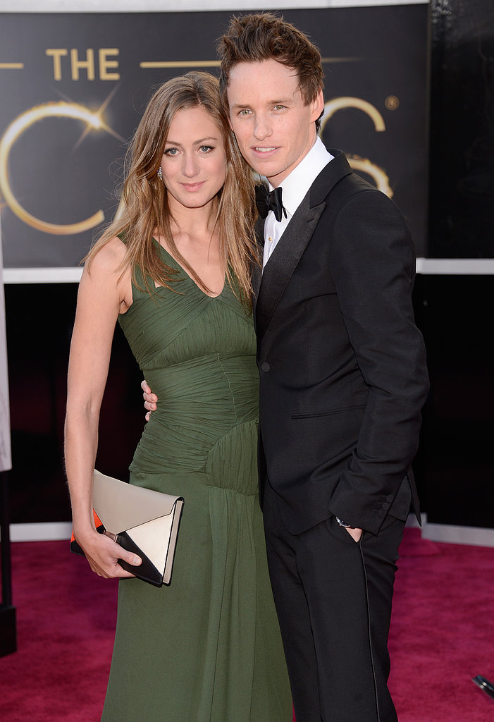 Eddie Redmayne and Hannah Bagshawe