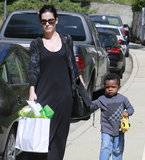 Sandra Bullock Celebrates Jackson Theron's Birthday With Little Louis and Chelsea Handler