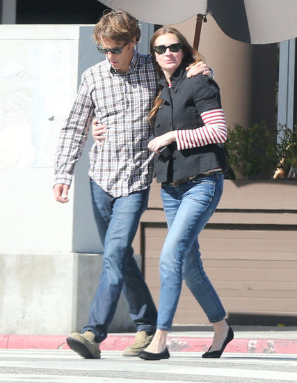 Julia Roberts and Daniel Moder grabbed lunch in Santa Monica.