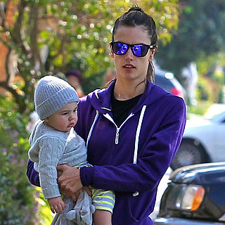 Alessandra Ambrosio Walking With Her Family in LA | Pictures