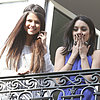 Selena Gomez and Vanessa Hudgens in Paris