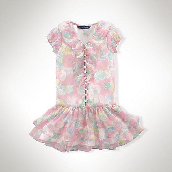Ralph Lauren Floral Chiffon Dress