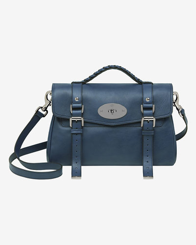 Mulberry Alexa Soft Buffalo: Slate Blue