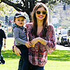 Miranda Kerr Pictures With Flynn at Park in LA