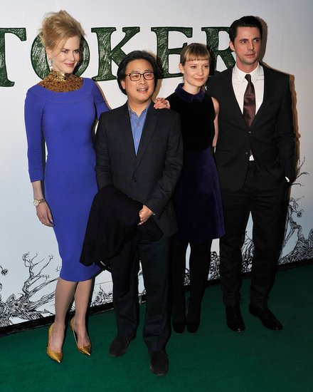 Nicole Kidman, Park Chan-wook, Mia Wasikowska and Matthew Goode