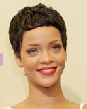 In a surprising move, Rihanna premiered a boyish pixie at the 2012 MTV Video Music Awards.