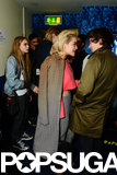 Cara Delevingne, Rita Ora, and Harry Styles chatted backstage.