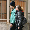 Scarlett Johansson Walking to a Tattoo Parlor | Pictures