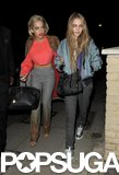 Rita Ora and Cara Delevingne went party hopping during London Fashion Week in February.