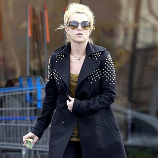 Britney Spears Wearing Studded Coat in LA | Pictures