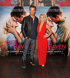 Julianne Hough Shows Skin to Promote Safe Haven With Dad-to-Be Josh Duhamel