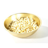 Elevate a ritual movie-watching snack with this gilded popcorn bowl ($15, originally $37).
