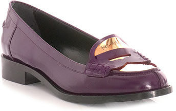 Yves Saint Laurent Charlotte penny loafers