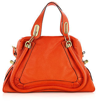 Chloe Paraty grained leather bag