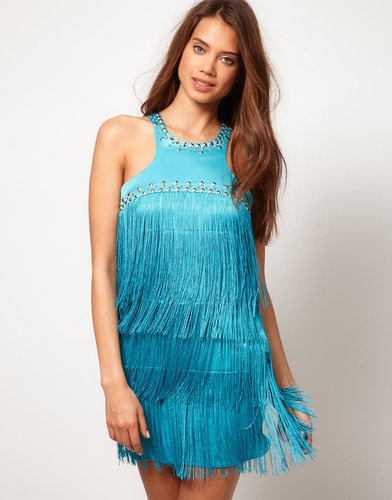Lipsy Fringed Dress