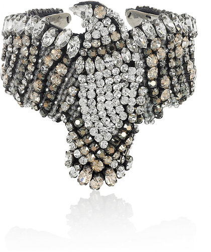 Shourouk Phenix crystal cuff