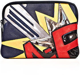 3.1 Phillip Lim Bang patchwork 31 minute clutch bag