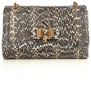 Christian Louboutin Sweet Charity watersnake bag