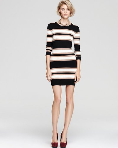 French Connection Sweater Dress - Bambi Striped