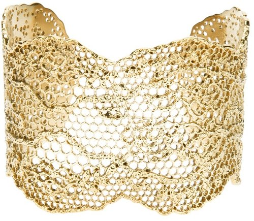 Aurelie Bidermann &#039;Lace&#039; cuff