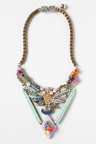 Beaded Phoenix Necklace