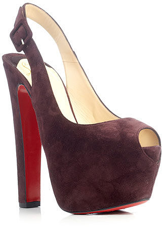Christian Louboutin Tartarina 160mm suede pumps