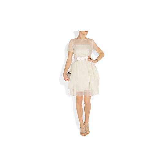 Dress, approx $4,153, Lanvin at Net-a-Porter