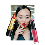 Red Lipstick at Antonio Berardi London Fashion Week