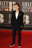 Conor Maynard stepped out for the Brit Awards at London's O2 Arena.