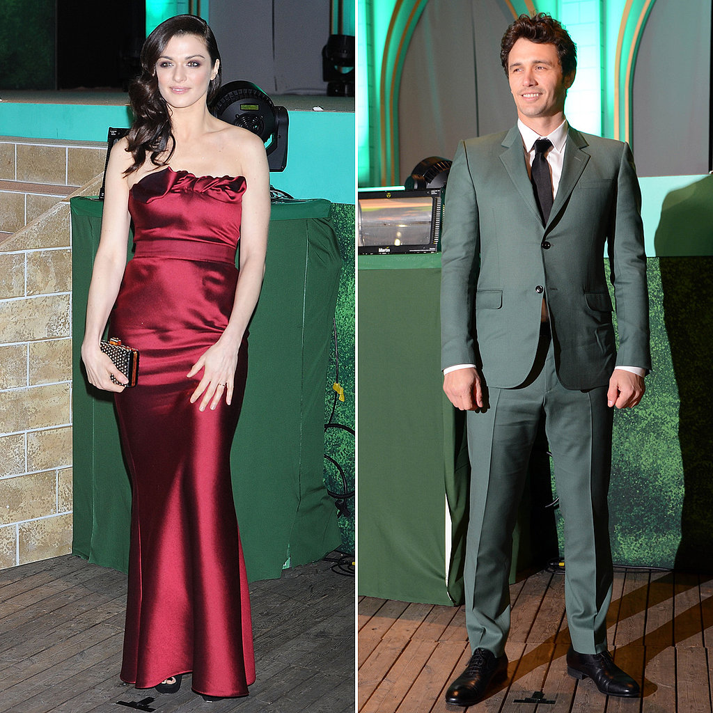 James and Rachel Show Their True Colors at Oz's Tokyo Premiere