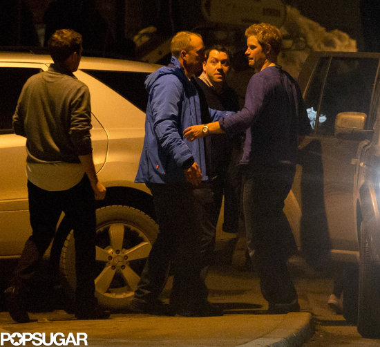 Prince Harry left a club with Cressida Bonas and Princess Eugenie.