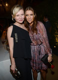 Kirsten Dunst and Kate Walsh shared a moment inside the event.