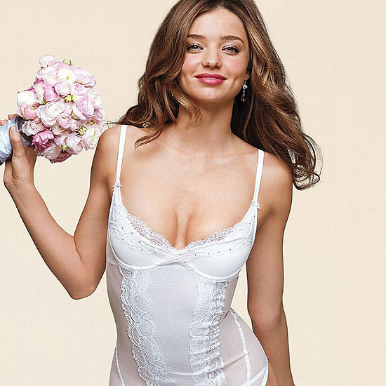 Miranda Kerr Victoria&#039;s Secret Bridal Lingerie