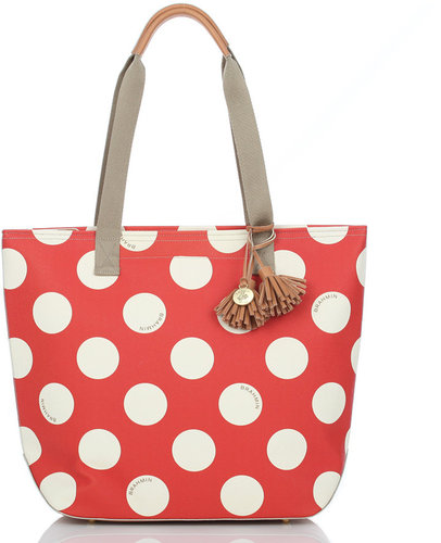 Brahmin Frankie Polka Dot Tote