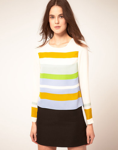 Whistles Ceceile Stripe Top