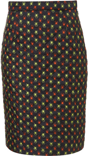 **Quilted Spider Print Skirt by J.W. Anderson for Topshop