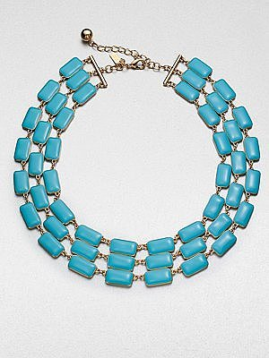 Kate Spade New York Multi-Row Linked Necklace