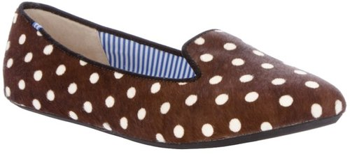 Charles Philip polka dot pump