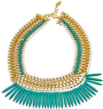Sara Designs Tribal Spike Necklace