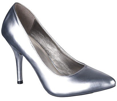 Women's Mossimo® Vivian Pointy Heel - Silver