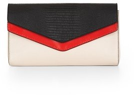 Adele Color-Blocked Clutch