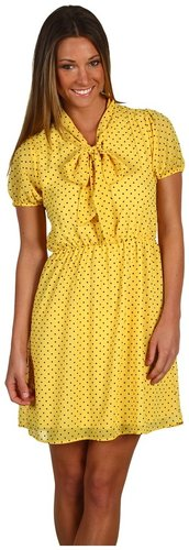 Gabriella Rocha - Izzie Polka Dot Dress (Yellow) - Apparel