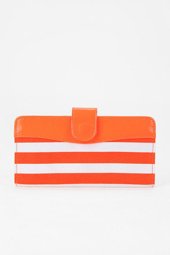 Cooperative Surf-Stripe Checkbook Wallet