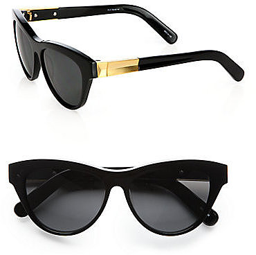 Elizabeth and James Charlton Cat&#039;s-Eye Wayfarer Sunglasses