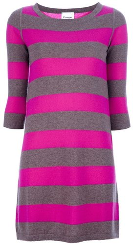 Crumpet striped sweater dress