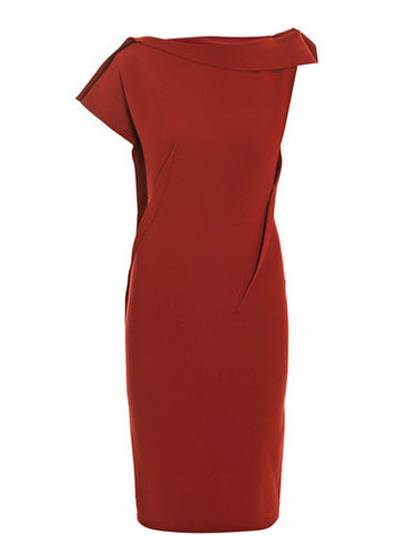 Lanvin Drape-front dress