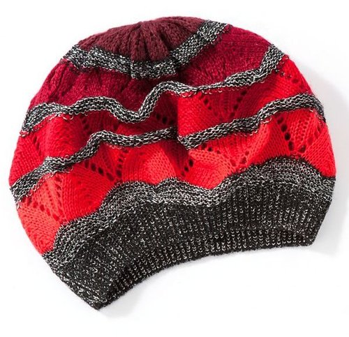 Apt. 9® striped chevron beret