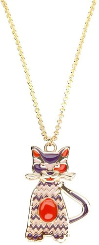 Missoni cat pendant