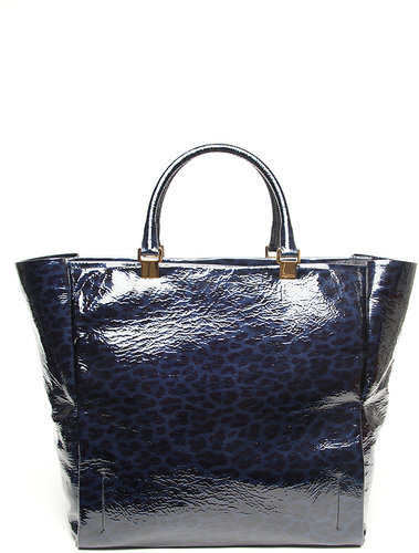 Lanvin Patent Leather Shopper